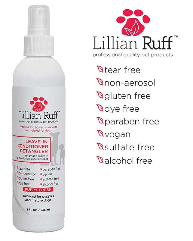 lillian ruff detangler spray