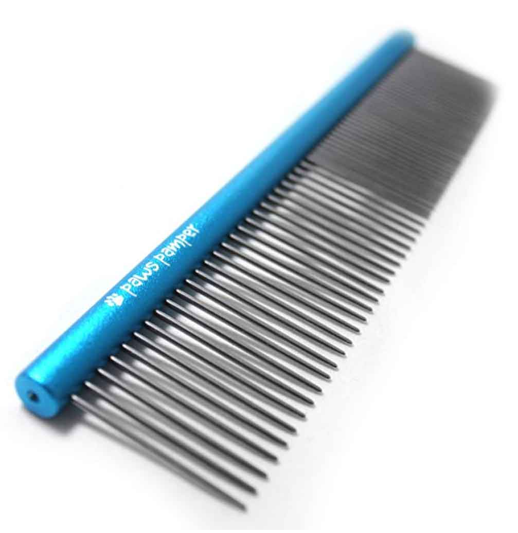paw pampers shih tzu comb