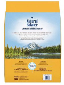 natural balance limited ingredient dog food
