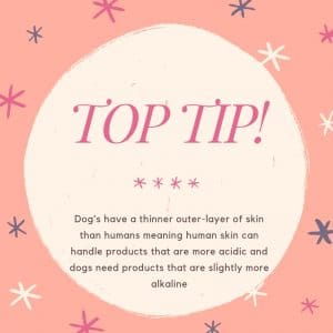 top tip dog conditioner ph balance