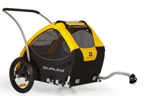 burley dog bike trailer