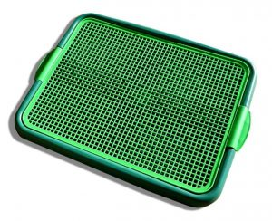 klean paws litter tray with grate