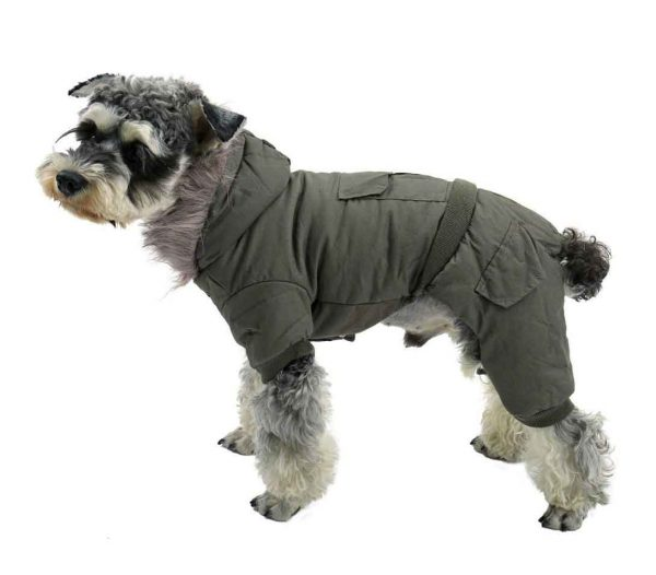 dog coat with legs pawz