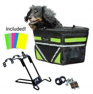 travelin dog bike basket
