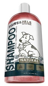 paws and pals shampoo shih tzu allergies