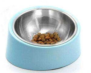 tilted dog bowl flat faced dogs