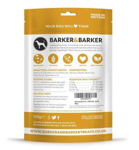barker and barker shih tzu puppy treats
