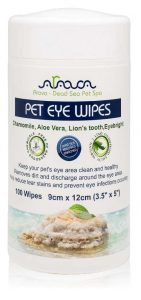 eye wipes shih tzu tear stain removal