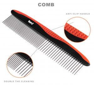 benz dog dematting comb set